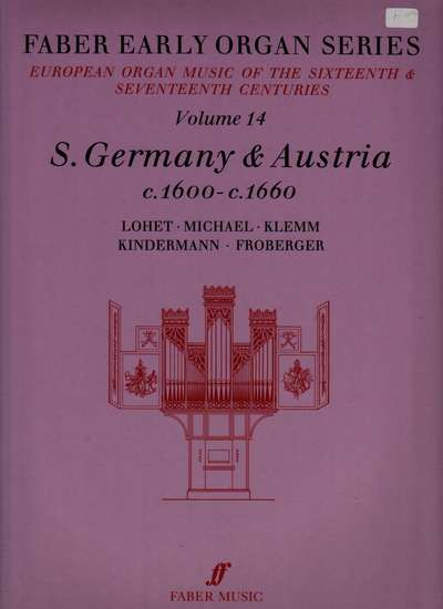 photo of European Organ Music of 16th and 17th cent, Vol 14, S. Germany and Austria