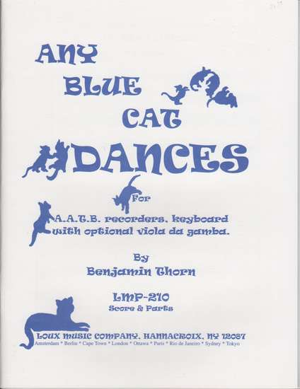 photo of Any Blue Cat Dances