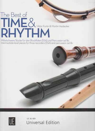photo of The Best of Time & Rhythm, Intermediate level pieces
