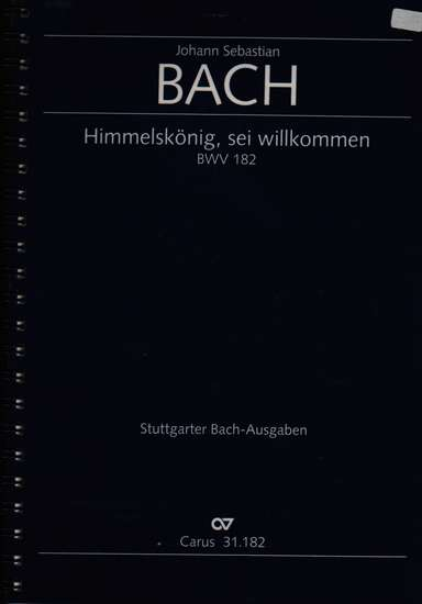 photo of Himmelskonig, sei willkommen, BWV 182, version in A Major