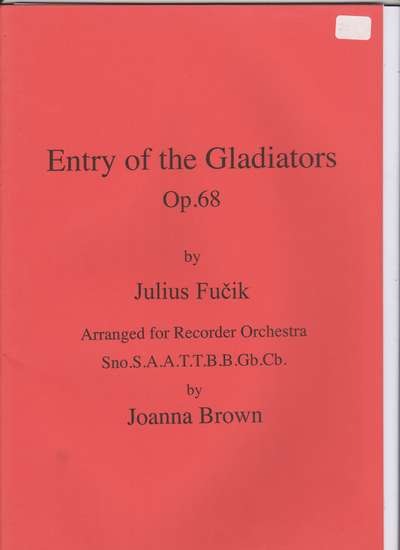 photo of Entry of the Gladiators, Op. 68