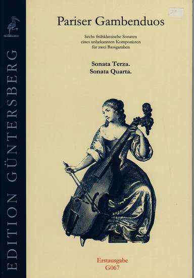 photo of Pariser Gambenduos, Sonata Terza, Sonata Quarta