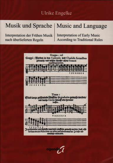 photo of Music and Language, Interpretation of Early Music According to Traditional Rules