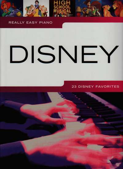 photo of Really Easy Piano Disney, 23 Disney Favorites
