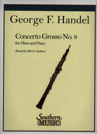photo of Concerto Grosso, No. 8, for Oboe and Piano