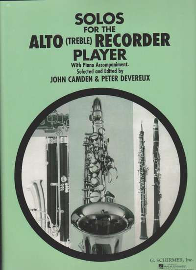 photo of Solos for the Alto Recorder Player