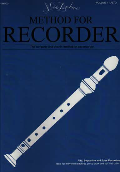 photo of Method for the Recorder, Part One, Alto
