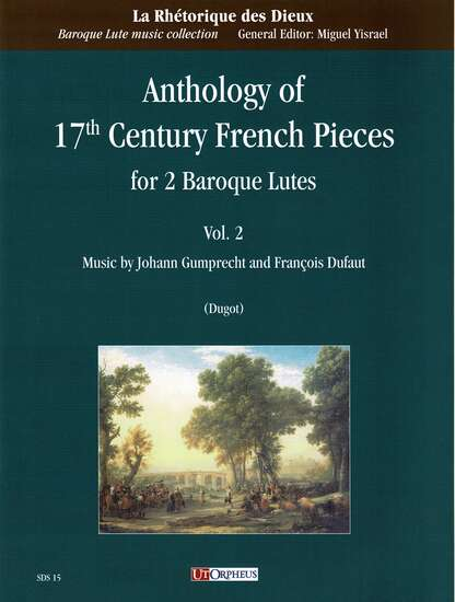 photo of Anthology of 17th Century French Pieces for 2 Baroque Lutes, Vol. 2