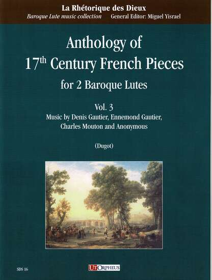 photo of Anthology of 17th Century French Pieces for 2 Baroque Lutes, Vol. 3