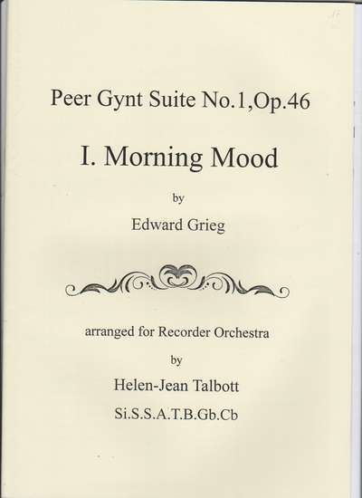 photo of Peer Gynt Suite No. 1, Op. 46, I Morning Mood