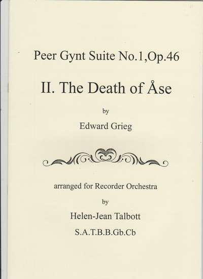 photo of Peer Gynt Suite No. 1, Op. 46, II The Death of Ase