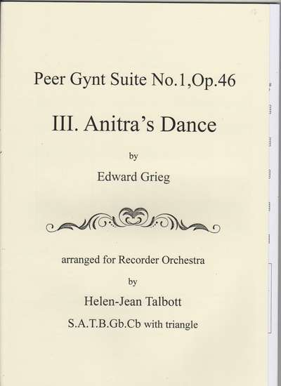 photo of Peer Gynt Suite No. 1, Op. 46, III Anitra