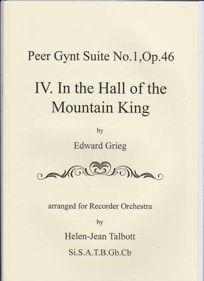 photo of Peer Gynt Suite No. 1, Op. 46, IV In the Hall of the Mountain King
