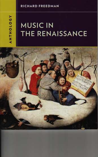photo of Music in the Renaissance, Anthology