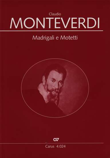 photo of Madrigali e Motetti, 7 Madrigals, 8 Motets and 5 by Coppini