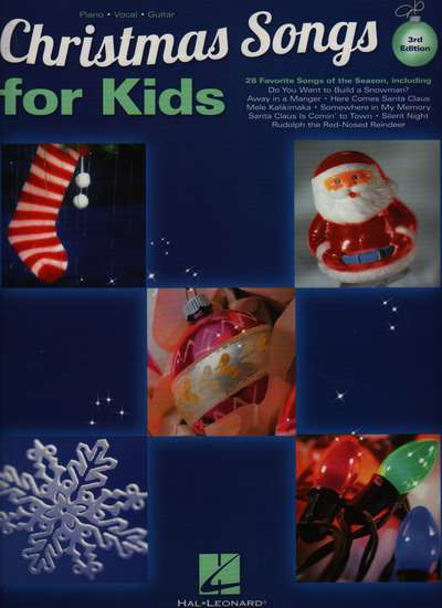 photo of Christmas Songs for Kids, 3rd edition