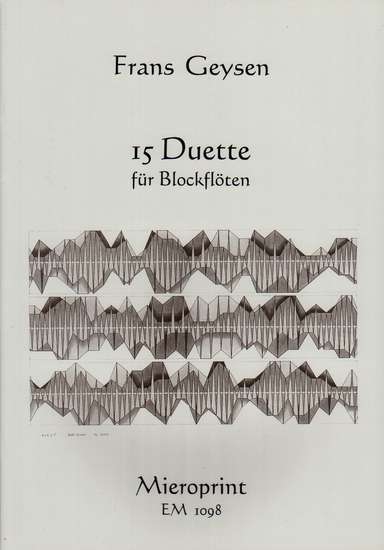 photo of 15 Duette for recorders