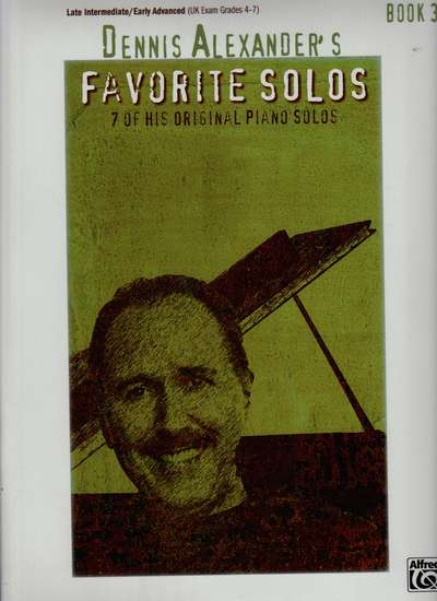 photo of Favorite  Solos, 7 of his original Piano Solos