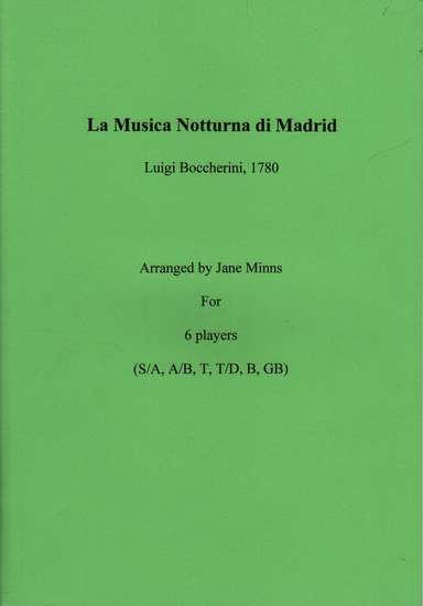photo of La Musica Notturna di Madrid