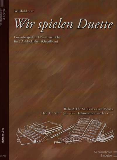 photo of Wir spielen Duette, Series A, Vol. 3