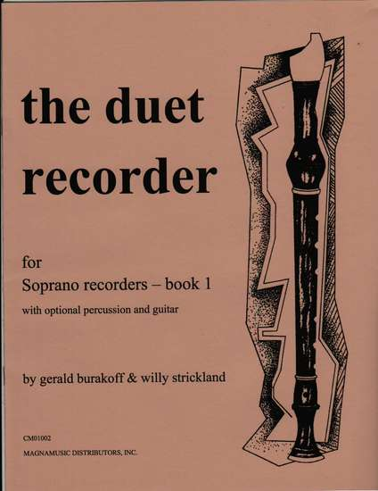 photo of The Duet Recorder for Soprano Recorders, Book 1