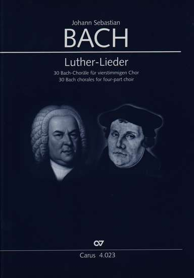 photo of Luther-Lieder, 30 Bach Chorales for four part choir