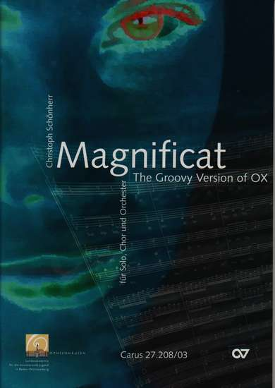photo of Magnificat, The Groovy Version of OX, vocal score