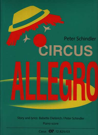 photo of Circus Allegro, Version 2 vocal score English edition