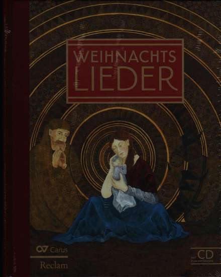 photo of Weihnachts Lieder, 81 Christmas songs, hard cover, with CD