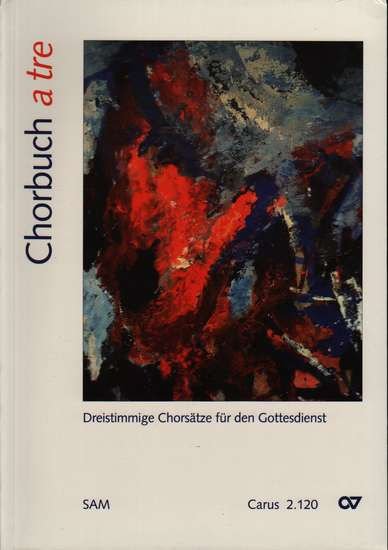 photo of Chorbuch a tre, 160 works, paper cover