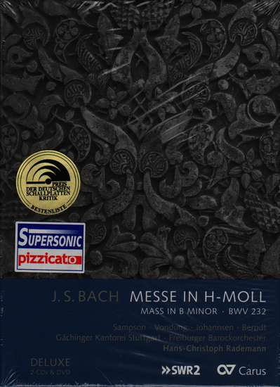 photo of Messe in H-Moll, BWV 232, Deluxe set, 2 CDs, DVD