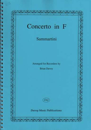 photo of Concerto in F