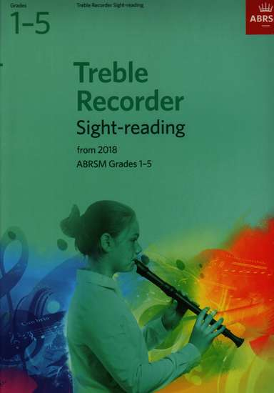 photo of Treble Recorder Sight-reading from 2018, Grades 1-5