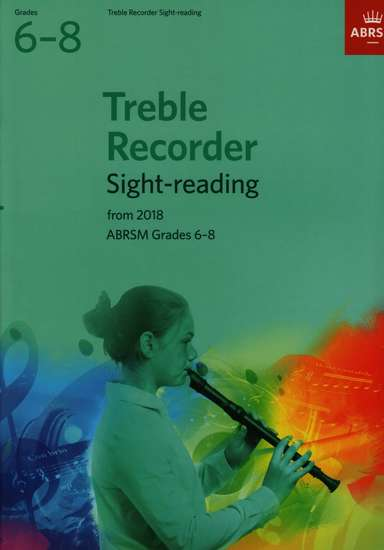 photo of Treble Recorder Sight-reading from 2018, Grades 6-8