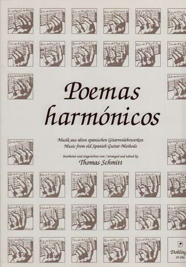 photo of Poemas harmonicos, Music from old Spanish Guitar Methods
