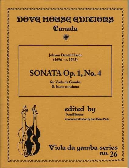 photo of Sonata Op. 1, No. 4