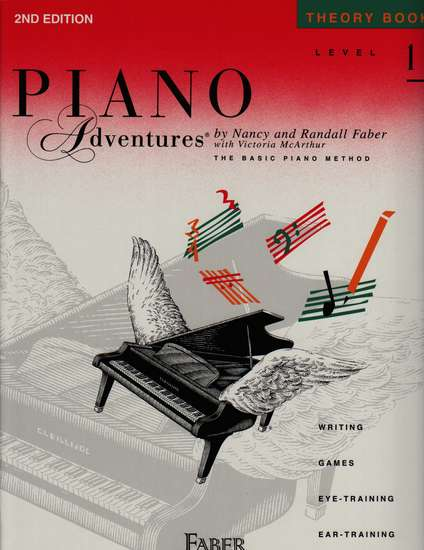 photo of Piano Adventures, Theory Book, Level 1, Second 2011 edition