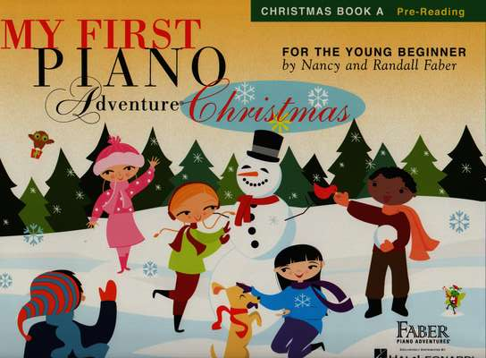 photo of My First Piano Adventure Christmas, Book A Pre-Reading