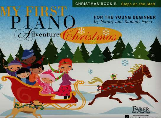 photo of My First Piano Adventure Christmas, Book B Steps on the Staff