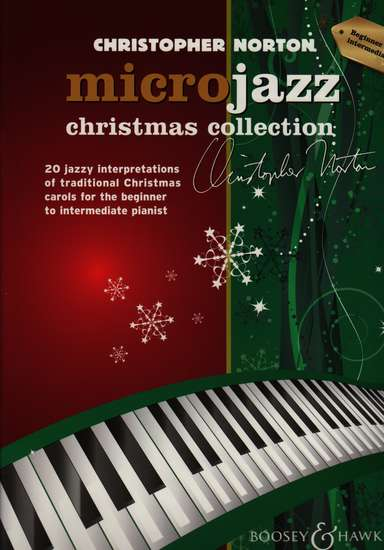 photo of Microjazz Christmas Collection, 20 jazzy interpretations of traditional carols