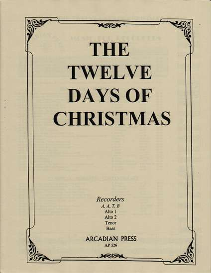 photo of The Twelve Days of Christmas