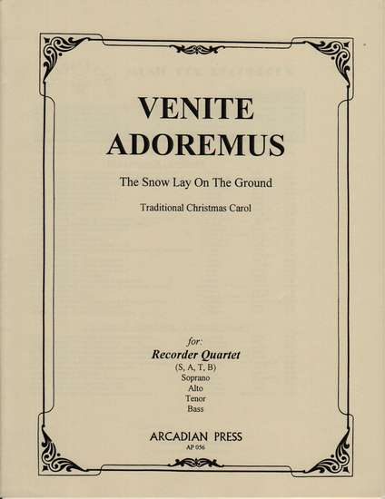 photo of Venite Adoremus