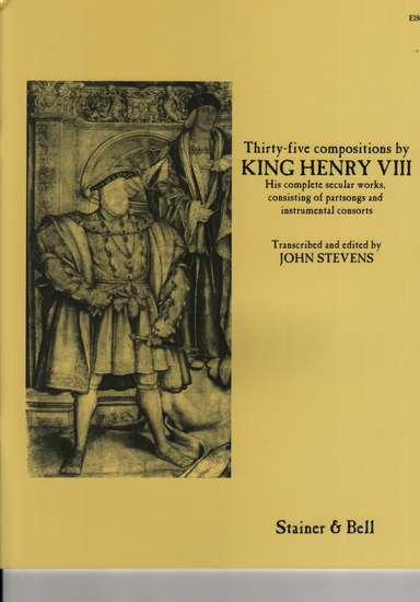 photo of Thirty-five Compositioins by King Henry VIII, Complete secular works