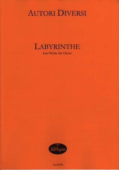 photo of Labyrinthe I, Three works for Harpsichord