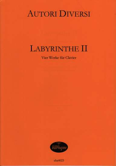 photo of Labyrinthe II, Four works for Harpsichord
