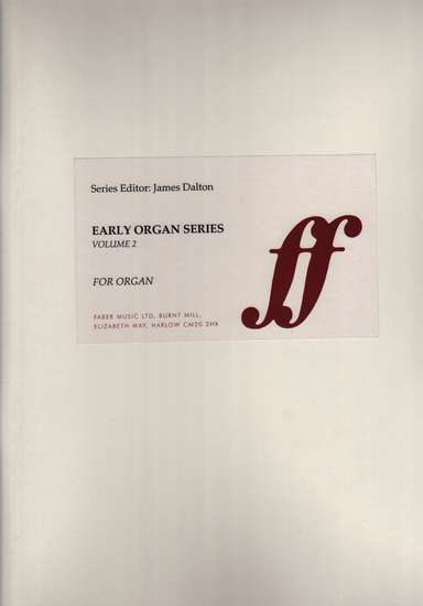 photo of European Organ Music of 16th and 17th cent, Vol 2, England 1590-1650