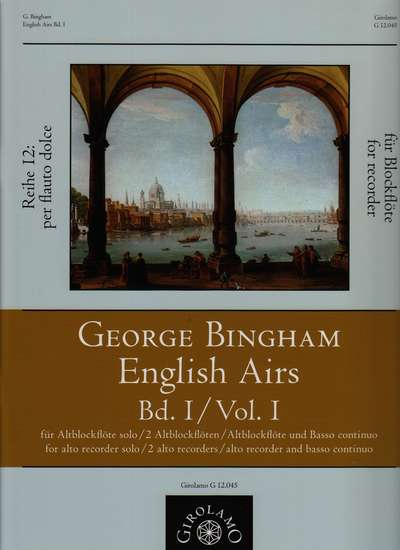 photo of English Airs, Vol. I, A Nr. 1-20, AA Nr. 21-30, A Bc Nr. 31-50