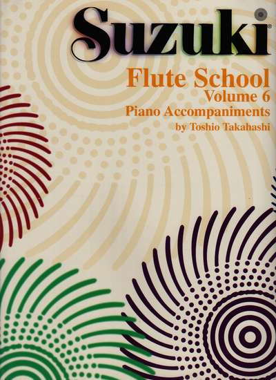 photo of Suzuki Flute School, Vol. 6, Acc., 1988