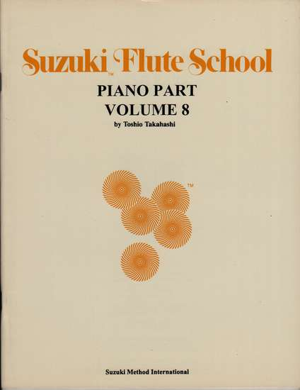 photo of Suzuki Flute School, Vol. 8, Acc., 1993