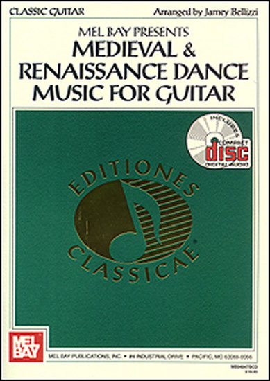 photo of Medieval & Renaissance Dance Music for Guitar